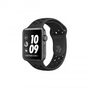 c79e157af7c Watch Nike+ 38mm Space Gray Aluminum Case with Anthracite/Black Nike Sport  Band