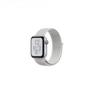 692a65feb9f Watch Nike+ Series 4 GPS, 44mm Silver Aluminium Case with Summit White Nike  Sport Loop
